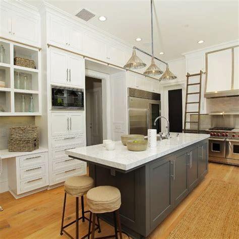25+ Delightful Kitchen Island Ideas Grey Gray Cabinets