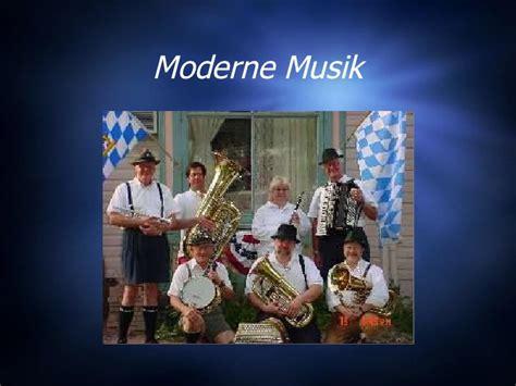 Moderne Musik