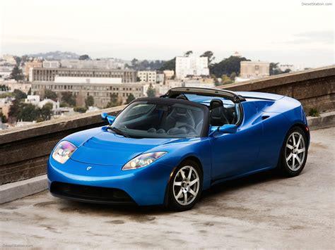 Tesla Roadster Sport Exotic Car Wallpapers 20 Of 72