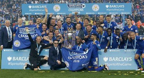 Así fue la fiesta del Leicester City campeón de la Premier ...