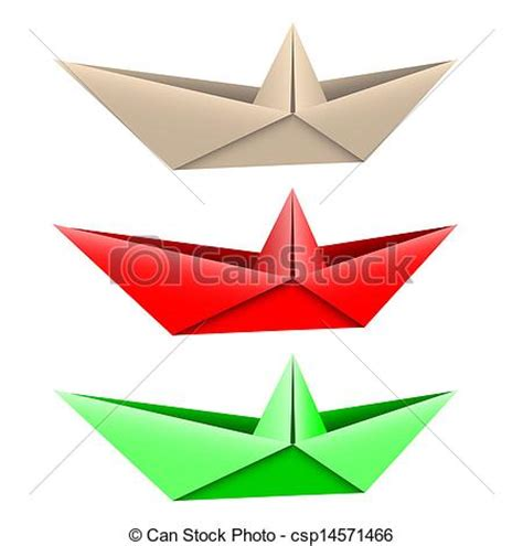 Origami Boat Clipart by Clip Vector Of Origami Boat Vector Of Paper Boats On