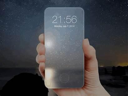 Phone Glass Sketch Screen Dribbble Edge Simulate