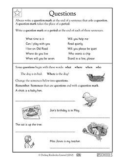 st grade kindergarten reading writing worksheets