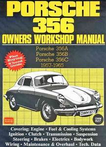Porsche 356 1957 1965 Service Repair Manual Brooklands Books Ltd Uk