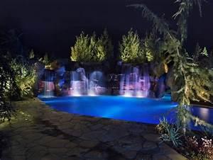"HGTV's ""Cool Pools-Scuba Pool"" Swim Through Grottos, Lazy ..."