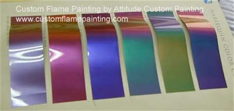 ppg harlequin color shift color charts motorcycle custom painting flames graphics trucks