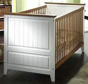 Babybett Holz Weiß : massivholz babybett kinderbett juniorbett wei honig kiefer massiv holz ~ Whattoseeinmadrid.com Haus und Dekorationen