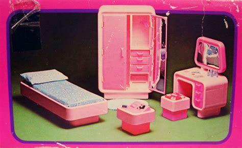 chambre  coucher de barbie mattel  ref
