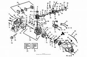 Poulan Lt17 Gas Trimmer Parts Diagram For Power Unit