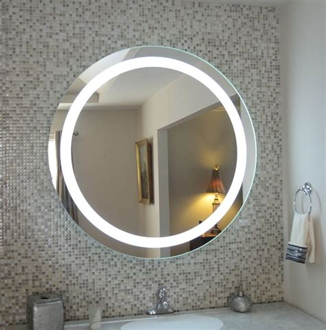 wall mounted lighted vanity mirror led mamd commercial grade   led vanity mirror