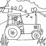 Tractor Coloring Pages Printable Farmer Farm John Deere Lawn Colouring Ride Mower Farmall Zero Turn Drawing Tractors Getcolorings Template Case sketch template