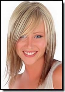 Coiffure Pour Cheveux Mi Longs : modele coiffure cheveux mi longs ~ Melissatoandfro.com Idées de Décoration