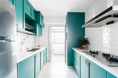 Kitchen Design Ideas From These 13 Hdb Homes  Home