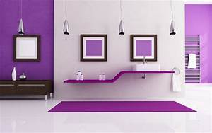 Home Decorating Purple Interior Design HD Wallpaper ...