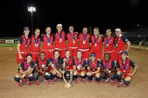 Olympic softball players of the United States