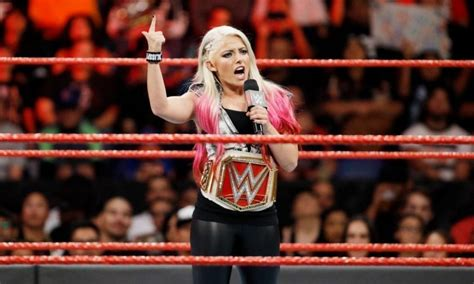 alexa bliss talks wwe changing  segment  mickie james