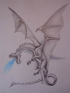 How to draw realistic dragons