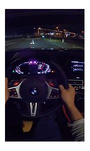 BMW M8 Convertible *NIGHT DRIVE POV* by AutoTopNL - YouTube