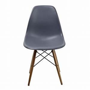 Chaise Gris Anthracite : chaise dsw gris anthracite achat vente chaise gris cdiscount ~ Teatrodelosmanantiales.com Idées de Décoration
