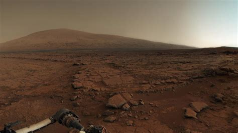 Planet Mars Surface