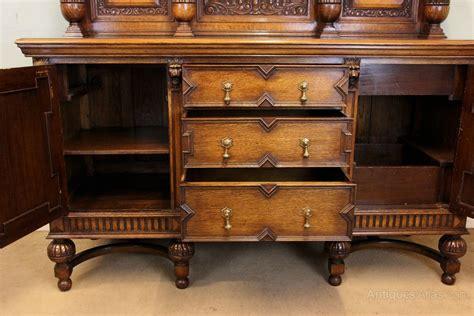 Antique Oak Sideboard Dresser
