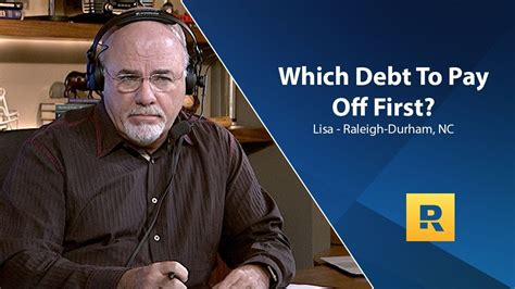 You're correct on most of these comments but he doesn't sell whole life insurance and actually recommend against it. Which Debt Do I Need To Pay Off First?   Term life, Dave ramsey, Life insurance policy