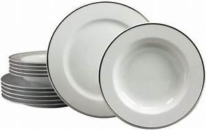 Tafelservice 12 Personen Villeroy Boch : creatable tafelservice porzellan 12tlg platin otto ~ Whattoseeinmadrid.com Haus und Dekorationen