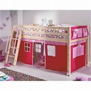 Lit Enfant 4 Ans : lit cabane enfant lit cabane en bois pour enfant pour am nager une chambre et gagner de l ~ Teatrodelosmanantiales.com Idées de Décoration