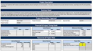 project charter example software implementation With software project charter template