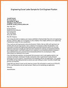 6 application letter of civil engineer bussines With engineering cover letter examples