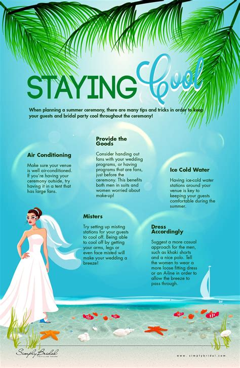 Staying Cool Simply Bridal http://nicolemariehope com