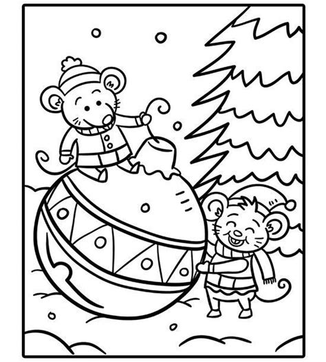 christmas coloring pages ideas