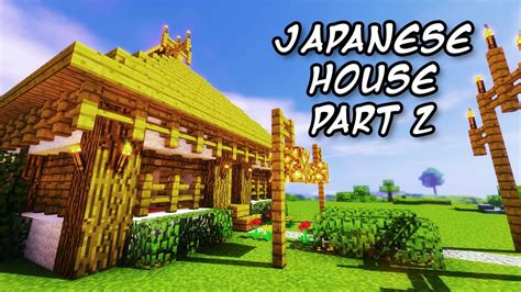 minecraft tutorials minecraft tutorial    build  japanese themed house  youtube