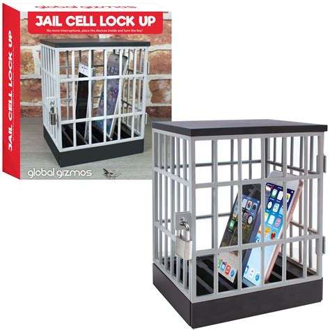 mobile phone jail cell cage padlock lock  home gift
