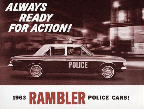 1963 Rambler Police Car Ad