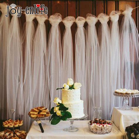 tulle roll  yard wedding decoration tulle outdoor