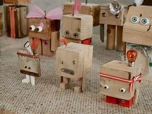 Werken Mit Holz Anleitungen : robotsr holz preschool robot pinterest holz roboter ~ Lizthompson.info Haus und Dekorationen