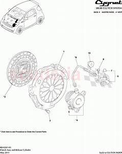 Aston Martin Cygnet Clutch Assembly And Release Cylinder