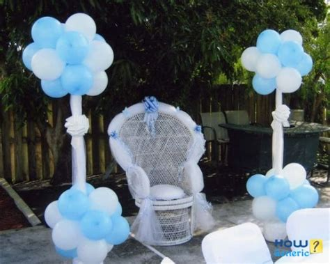 decorating baby shower chair images