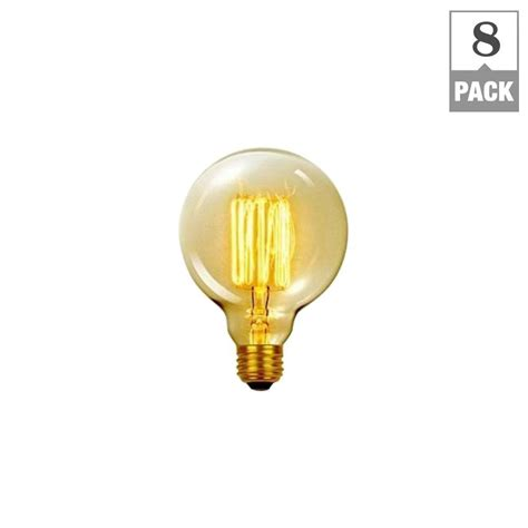 globe electric 60 watt incandescent g30 vintage vanity