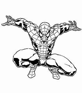 Dessin De Spiderman 3 Az Coloriage