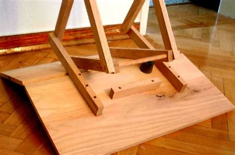 woodwork folding table blueprints  plans