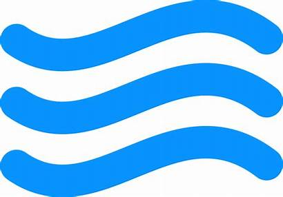 Flow Water Clipart Icon Transparent Simple Webstockreview