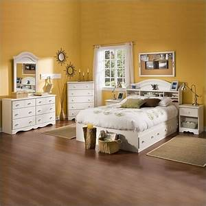 South shore summer breeze full size kids 6 piece bedroom for Kids full size bedroom sets