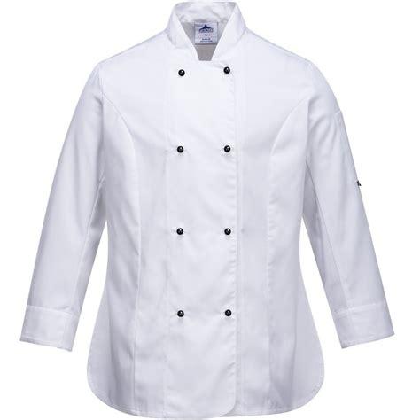 vetement de cuisine discount veste de cuisine femme blanche respirante de chez portwest