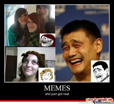 Realshit Memes - shit just got real by jubatron11 meme center