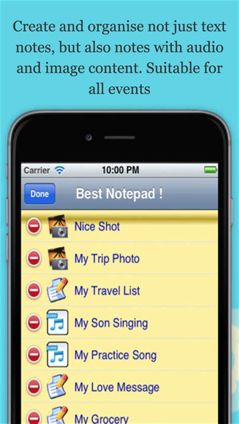 iphone memo pad notepad and memo pad lite version on the app store