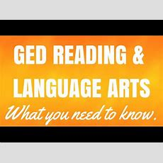 Ged Reading Writing Language Arts  What You Need To Know Youtube