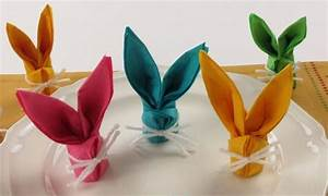 Servietten Falten Frühling : hasen aus servietten binden und als tischdeko einsetzen basteln ~ Eleganceandgraceweddings.com Haus und Dekorationen