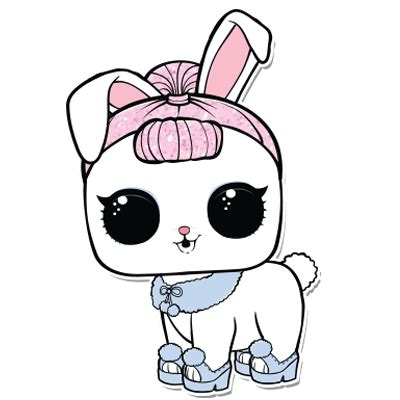lol pet crystal bunny imagens png